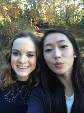 Lauren and Michelle at William and Mary